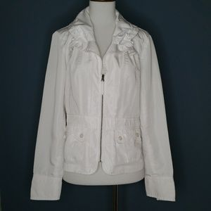 Tribal White Jacket Size 4